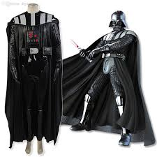 wholesale star wars darth vader costume suit robe men
