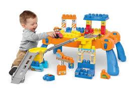 mega bloks first builders table mega bloks first builders build n go table building blocks dpy52