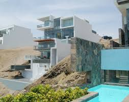 contemporary beach house with terraces idesignarch interior