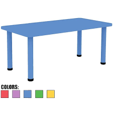 adjustable height kids table 2xhome blue kids table height adjustable 18 25 to 19 25