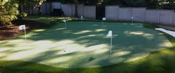 Backyard Chipping Green Michigan Backyard Golf Putting Greens Southwest Greens