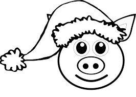 coloring pages of granny pig and granpa pig are two characters in