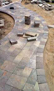 How To Lay Patio Pavers On Dirt by Installing Patio Pavers On Dirt Patio Decoration