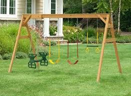 Backyard Swing Set Ideas Rocket Glider For Swing Set Glider Seats For Swing Sets