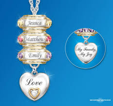 mothers necklaces with names and birthstones mothers necklace with kids names thrill this year