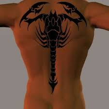 40 awesome scorpion tattoos in tribal style