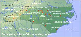 Nc State Campus Map Grid Computing Courses At Unc Charlotte