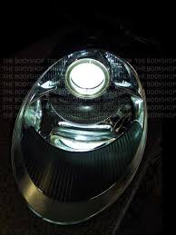 led lights for body shop porsche 997 angel eye halo headlight the body shop