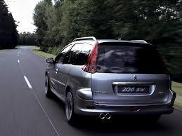peugeot 206 tuning peugeot populaire français d u0027automobiles 2001 peugeot 206 sw