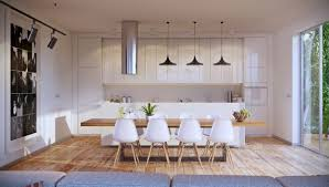 Inspirational Ideas For White And Wood Dining Rooms - Dining room inspiration