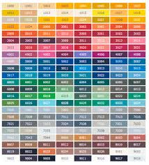 ral colors galasport