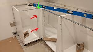 ikea kitchen cabinet filler panels sektion base corner cabinet am i supposed to into