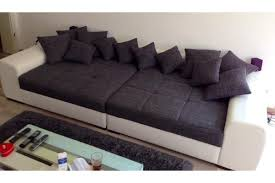 big sofa schwarz big sessel grau möbelideen