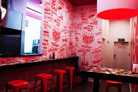 picture perfect wall graphics hingst s sign post auckland signs in australia wrapped the walls of the california burrito restaurant chain with arlon s dpf 207 digital print film a 6 mil vinyl film with a