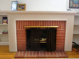 picture of fireplace designs with brick interior paint colors with