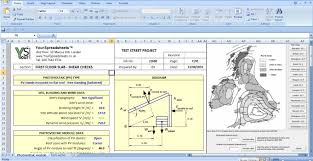 Concrete Estimate Template by Wind Load On Solar Panels Analysis Spreadsheet Is Very Much Useful