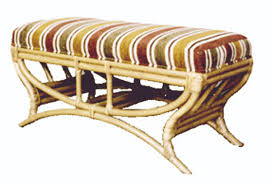 fong brothers co fb 1555 b rattan bench