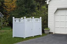 Backyard Garbage Cans by Outdoor Garbage Bin Storage Shed Solution No Hardware Or Tools