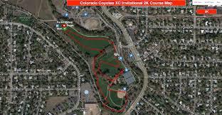 Maps Colorado Colorado Coyotes Xc Invitational Course Maps Colorado Coyotes