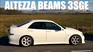 toyota altezza jdm vertex kitted toyota altezza beams 3sge youtube
