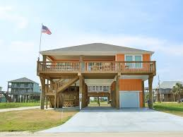 Galveston Beach House Rentals Beachfront by Lt Dan Great 2nd Row Beach House With Homeaway Crystal Beach