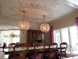 Grand Dining Room 31 Best Custom Ceiling Medallion Stencils Images On Pinterest