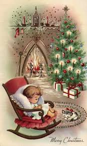 printable vintage christmas cards and images pinteres