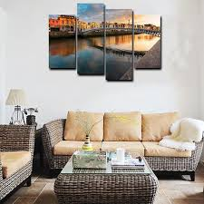 river home decor manufactur standard canvas prints wall art painting for home decor