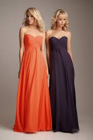 purple and orange wedding dress orange bridesmaid dress oasis fashion