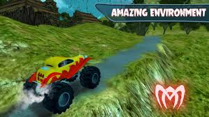 video monster truck off road 4wd monster truck driving legends uphill android apps
