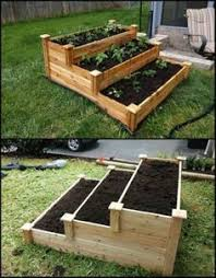 Cedar Raised Garden Bed Enjoy Gardening Without Breaking Your Back With This Tiered Cedar