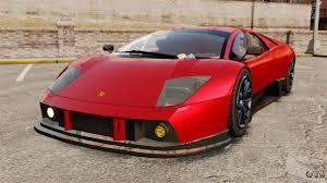Lamborghini Murcielago Red - lamborghini murcielago rgt for gta 4