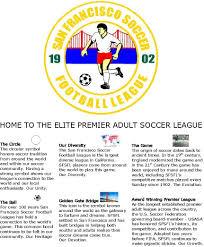 san francisco soccer football league pagemain