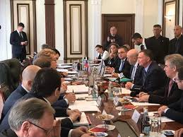 Russian Cabinet Knesset Speaker Once A Prisoner In Siberia Addresses Russian