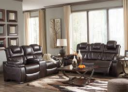 power reclining sofa set 2 pc warnerton power reclining sofa set 75407 ashley