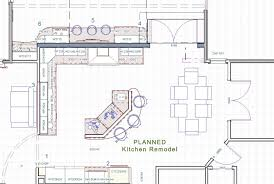 Kitchen Remodel Floor Plans Design Build Case Study Gourmet Kitchen Remodel Morris Nj