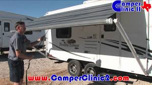 rv quick tips awning operation youtube
