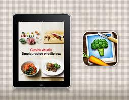 apprendre a cuisiner gratuitement cuisine visuelle iphone 240 recettes visuelles à cuisiner