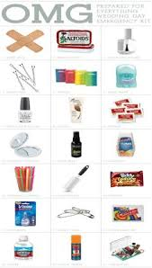 10 Must Bridal Up Kit by Wedding Day Emergency Kit 25 Must Items Wedding Weddings