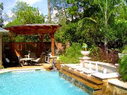 Florida Backyard Landscaping Ideas by Furniture Attractive Backyard Landscaping Ideas Swimming Pool