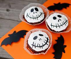 Halloween Skull Cakes by