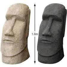 easter island moai statue figures sculptures
