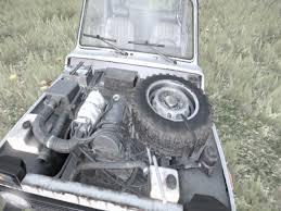 uaz dayz tire in the hatchback engine dayz tv