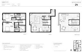 penthouse townhome units boutique 28