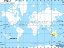 where is cook islands located on the world map where is cook islands located in world map