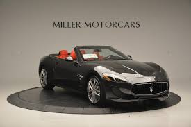 new maserati granturismo 2017 maserati granturismo convertible sport stock m1636 for sale