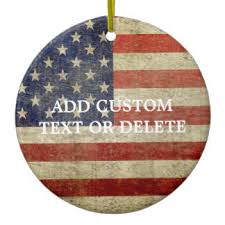 american flag ornaments keepsake ornaments zazzle