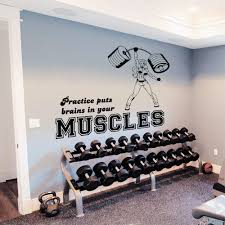 wall decals for home gym wall murals you u0027ll love blog stodiefor