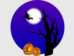 halloween design backgrounds for powerpoint templates ppt