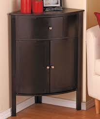 Corner Storage Cabinet Best Accent Table With Storage Wood Corner Storage Cabinet Black
